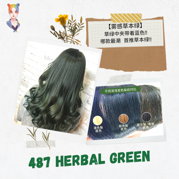 Sofei Forest Herb Extract Dusty Color Cream  - 487...