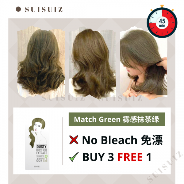 SOFEI DUSTY HERB EXTRACT COLOR CREAM - 687 MATCH G...